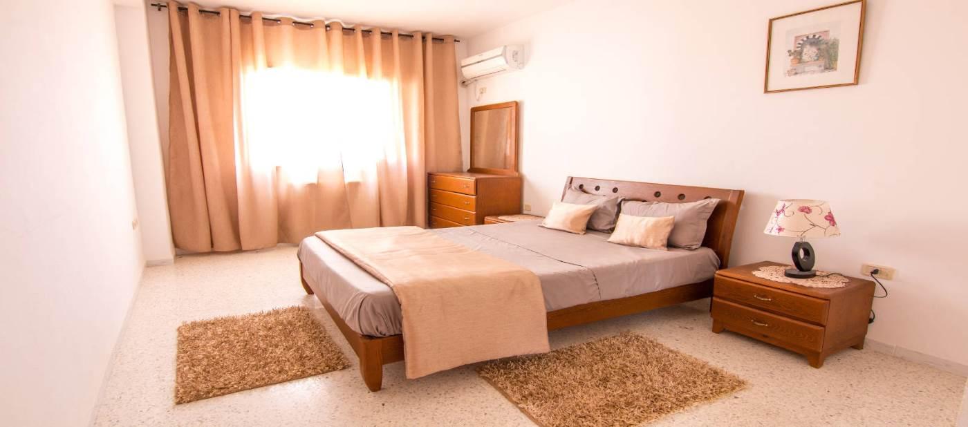 appartement de location vacances à mahdia composé d'une belle chambre à coucher