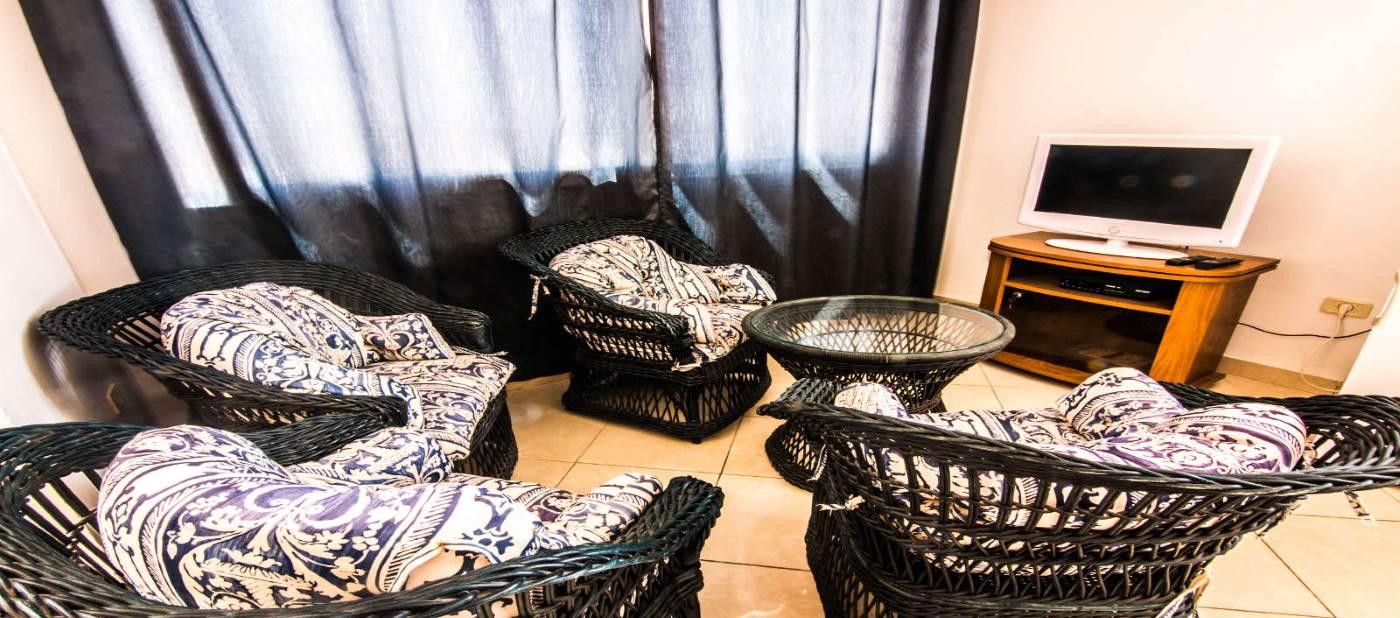 Magnifique salon pour location vacances à Mahdia en Tunisie